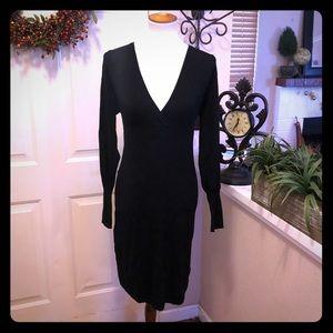 Vertigo Paris Long Sleeve Sweater Dress
